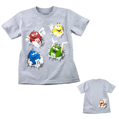 T SHIRTS M&M s World